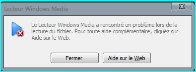 lecteur windows media c00d11b1